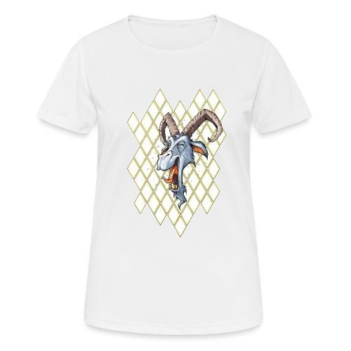 blauer bock - Frauen T-Shirt atmungsaktiv