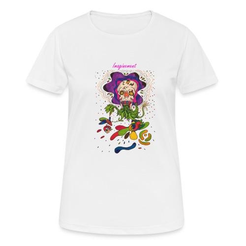 Döskalle - Andningsaktiv T-shirt dam