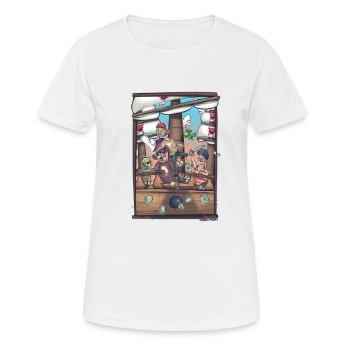 les pirates - T-shirt respirant Femme