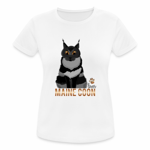 Maine Coon lover - T-shirt respirant Femme