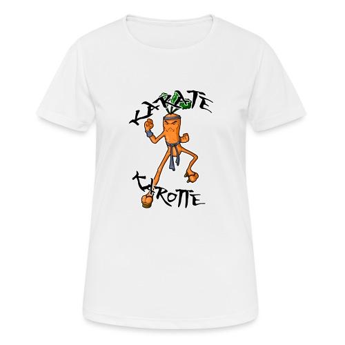 KarateKarotteTexte - T-shirt respirant Femme