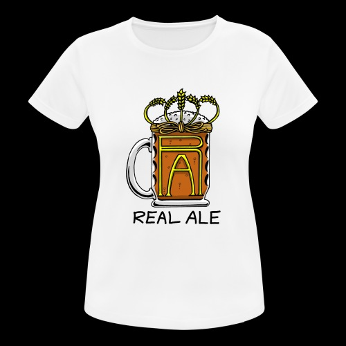 Real Ale - Women's Breathable T-Shirt