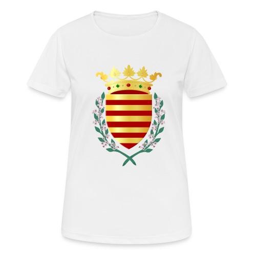 Wapenschild Borgloon - vrouwen T-shirt ademend