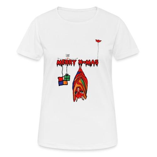 Merry X-MAS - Frauen T-Shirt atmungsaktiv