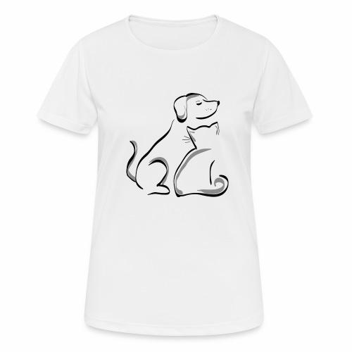 Haustiere bedrucken - Frauen T-Shirt atmungsaktiv