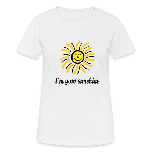 2i m youre sunshine Gelb Top - Frauen T-Shirt atmungsaktiv