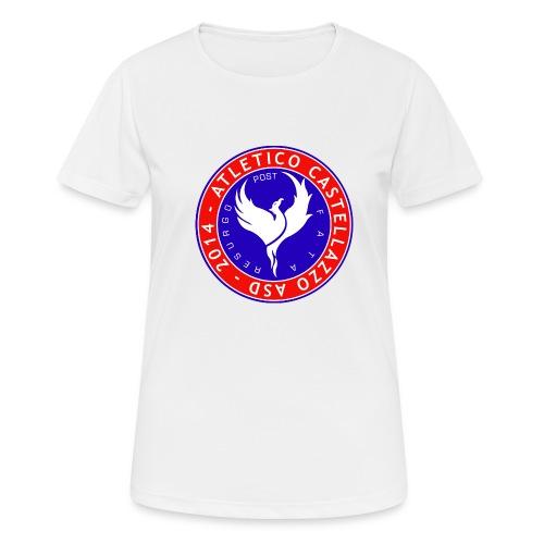 Atletico Castellazzo Logo Ufficiale - Maglietta da donna traspirante