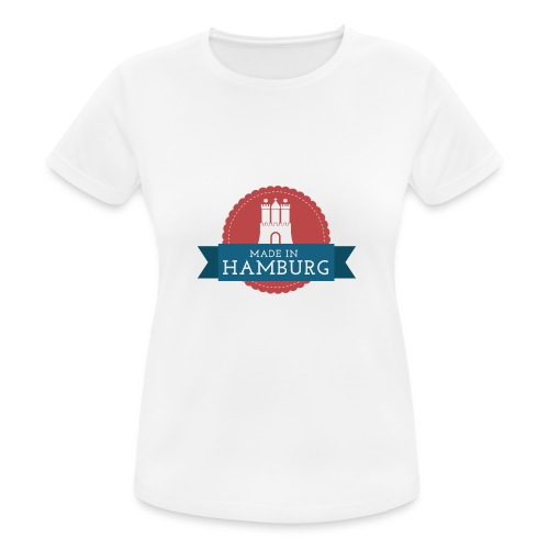 Made in Hamburg - invert - Frauen T-Shirt atmungsaktiv