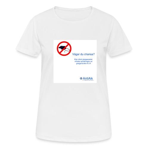 AntiAik - Andningsaktiv T-shirt dam
