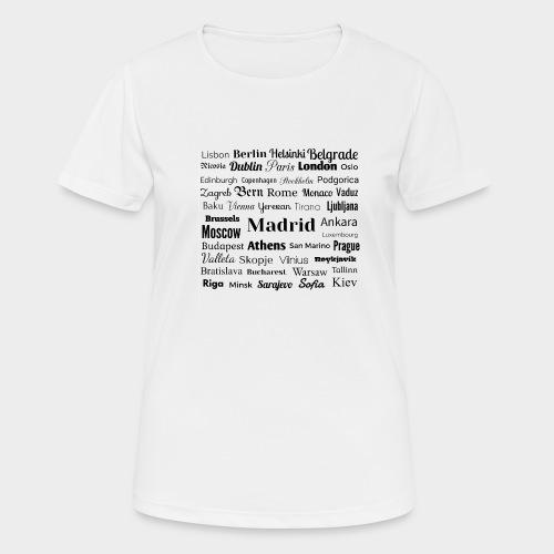 European capitals - Women's Breathable T-Shirt