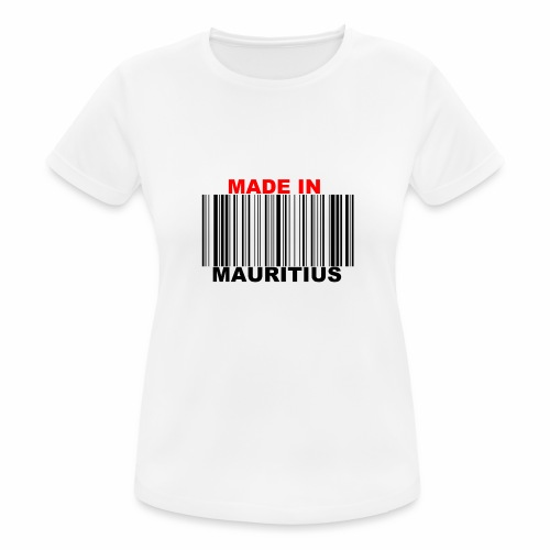 MADE IN MAURITIUS - T-shirt respirant Femme