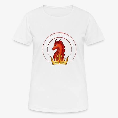 Drachenkoenig Logo - Frauen T-Shirt atmungsaktiv