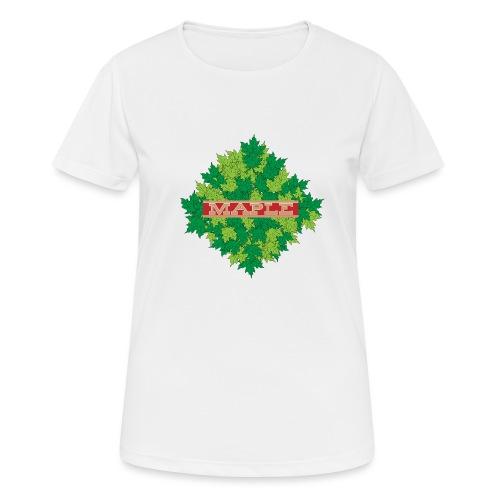maple - Frauen T-Shirt atmungsaktiv
