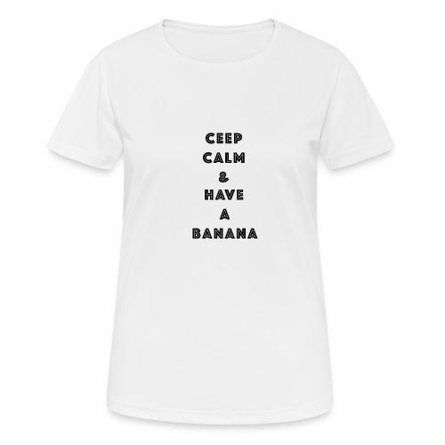 Ceep calm - Pustende T-skjorte for kvinner
