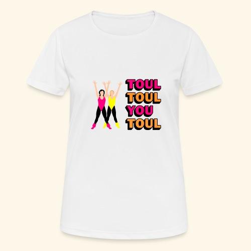 Toul Toul You Toul - T-shirt respirant Femme