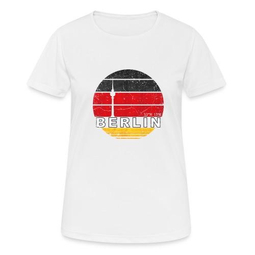 BERLIN, Germany, Deutschland - Women's Breathable T-Shirt