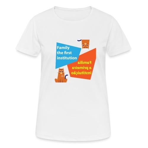 Duna Família - Pustende T-skjorte for kvinner