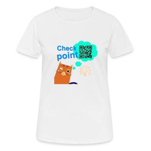 Duna Checkpoint - Pustende T-skjorte for kvinner