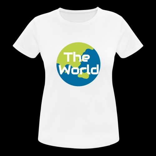 The World Earth - Dame T-shirt svedtransporterende