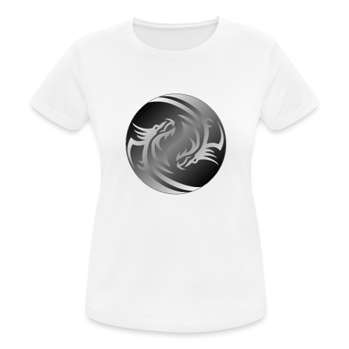 Yin Yang Dragon - Women's Breathable T-Shirt