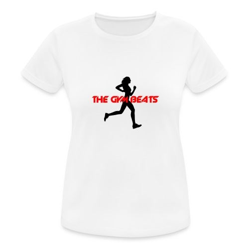 THE GYM BEATS - Music for Sports - Frauen T-Shirt atmungsaktiv