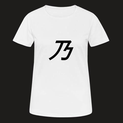 B Logo - Dame T-shirt svedtransporterende