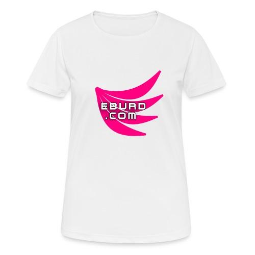EBURD LOGO GROSS - Frauen T-Shirt atmungsaktiv