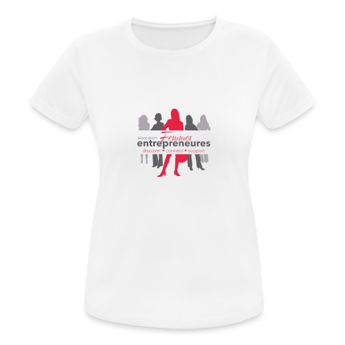 Femmes Entrepreneures network - T-shirt respirant Femme