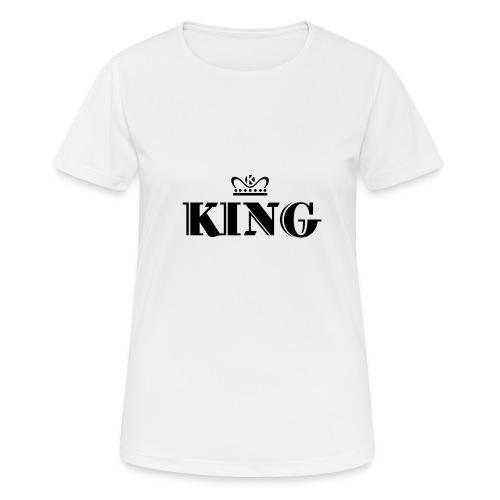 King - Frauen T-Shirt atmungsaktiv