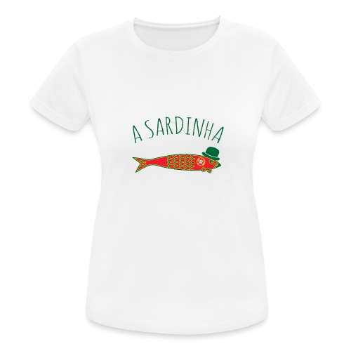 A Sardinha - Bandeira - T-shirt respirant Femme