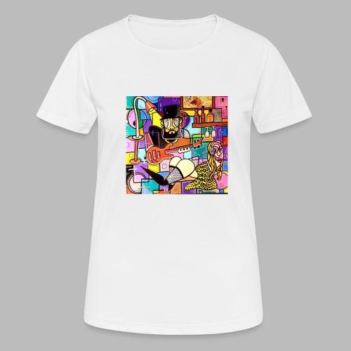 Vunky Vresh Vantastic - Vrouwen T-shirt ademend actief