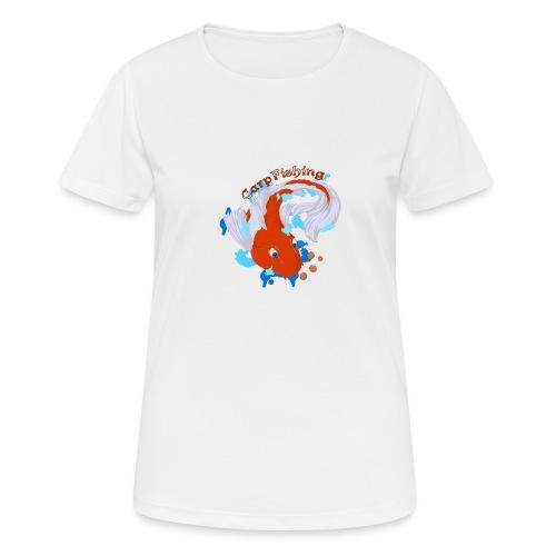 Carpa Koi - Carp Fishing - Maglietta da donna traspirante