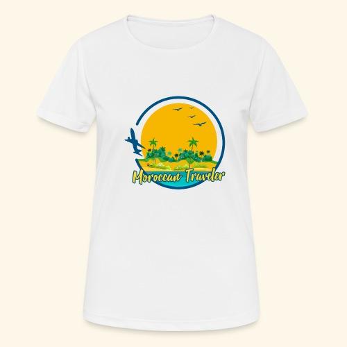Moroccan Traveler - T-shirt respirant Femme