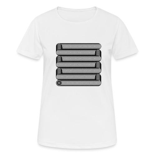 Wavesnake - Vrouwen T-shirt ademend actief