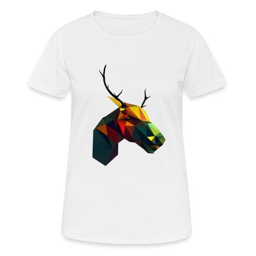 Peura - naisten tekninen t-paita
