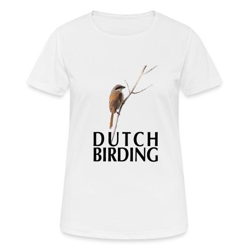 langstaartklauwier - Vrouwen T-shirt ademend actief