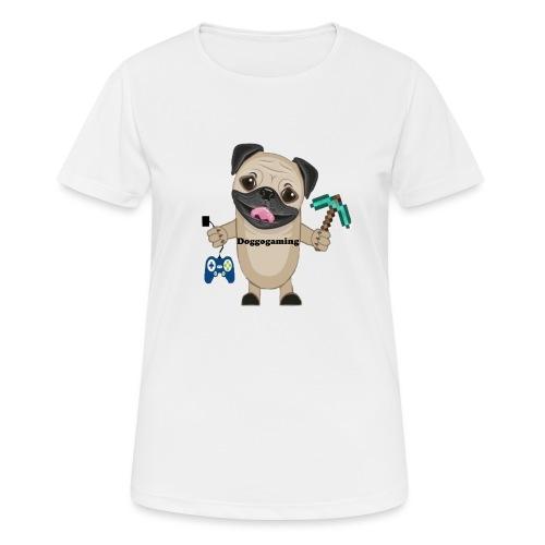 DOGGOgaming - Andningsaktiv T-shirt dam