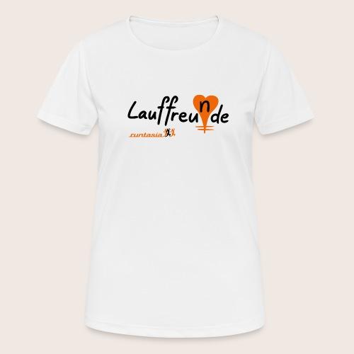 Lauffreu(n)de - Frauen T-Shirt atmungsaktiv