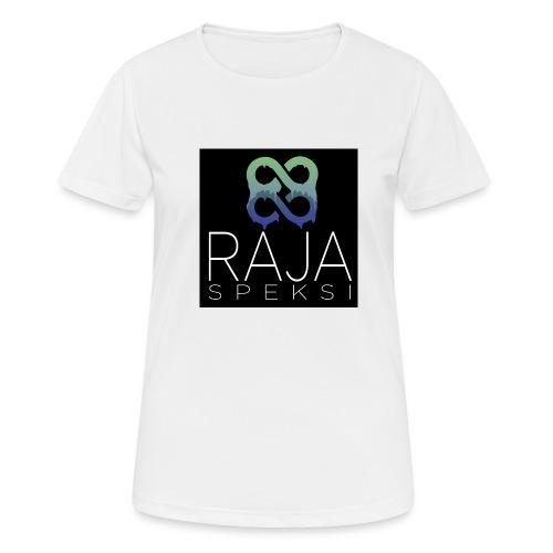 RajaSpeksin logo - naisten tekninen t-paita