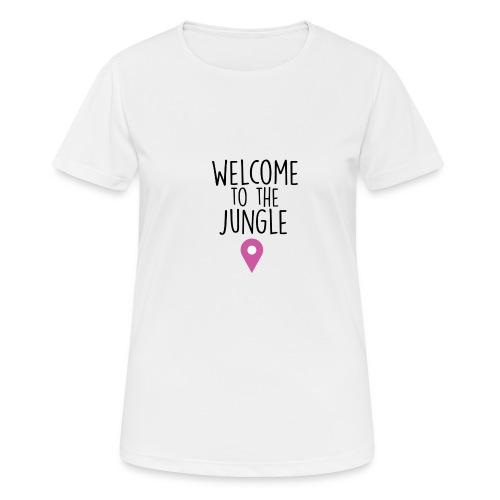 welcome to the jungle - Maglietta da donna traspirante