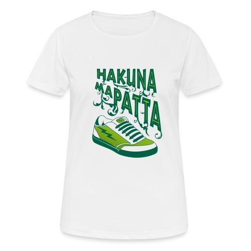 Hakuna maPatta - Vrouwen T-shirt ademend actief