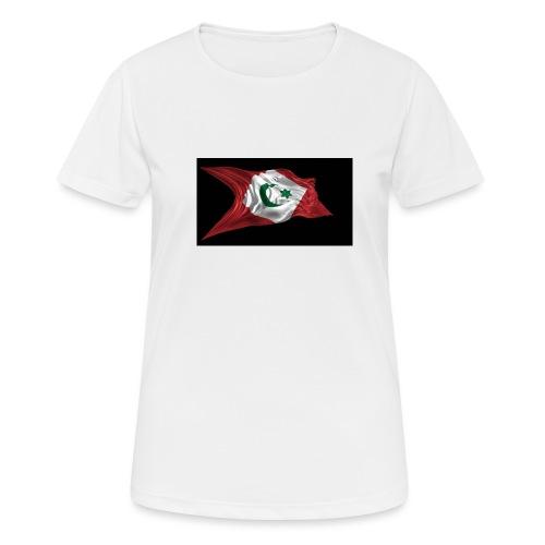 rif flag drapeau du rif de 1921 au 1927 Tamazgha.. - Vrouwen T-shirt ademend actief