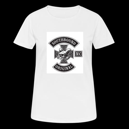 SOUTHBOUND - naisten tekninen t-paita