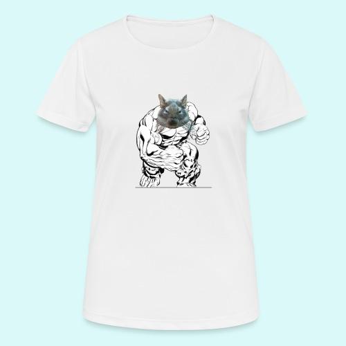souris en colere - T-shirt respirant Femme