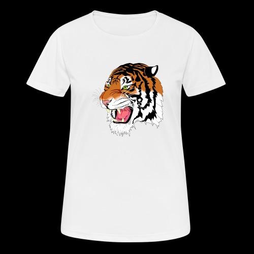 Sumatra Tiger - Frauen T-Shirt atmungsaktiv
