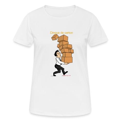 Dingue de carton - T-shirt respirant Femme