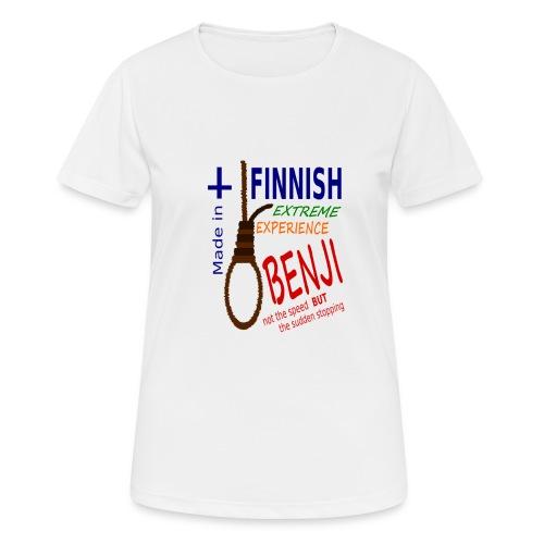 FINNISH-BENJI - Women's Breathable T-Shirt