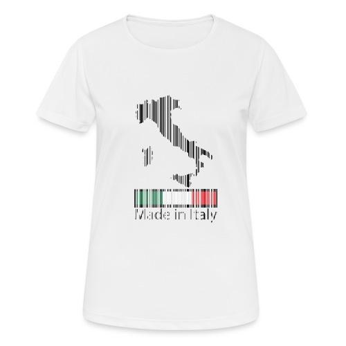 Made in Italy - Maglietta da donna traspirante