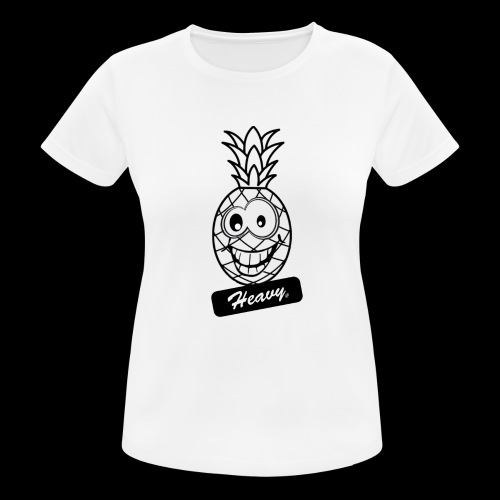 Design Ananas Heavy - T-shirt respirant Femme