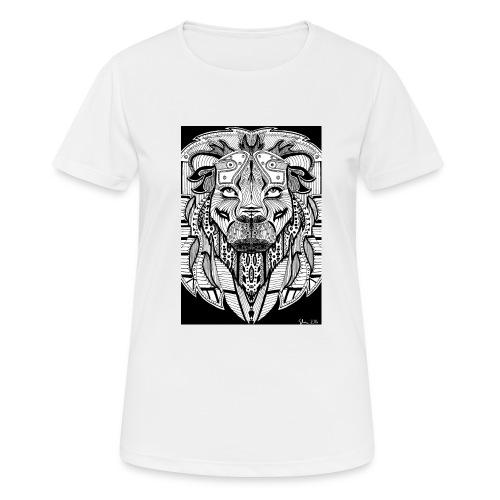 Lion - Frauen T-Shirt atmungsaktiv
